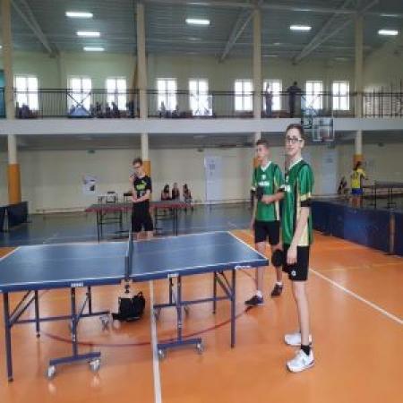 Gminne zawody w tenisie stołowym