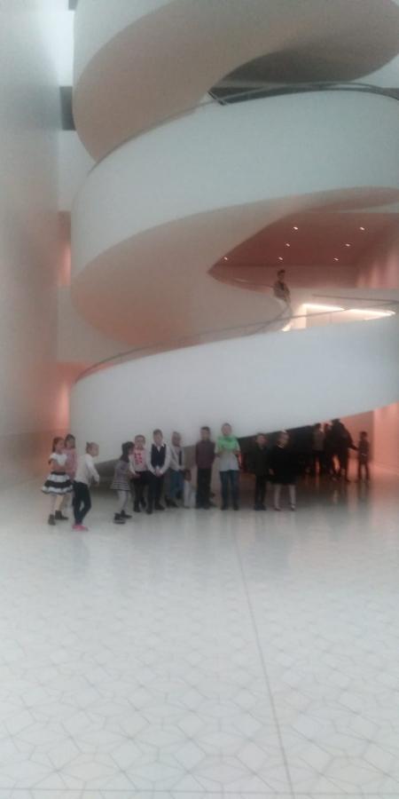 Wycieczka  klas I - III do filharmonii w Szczecinie