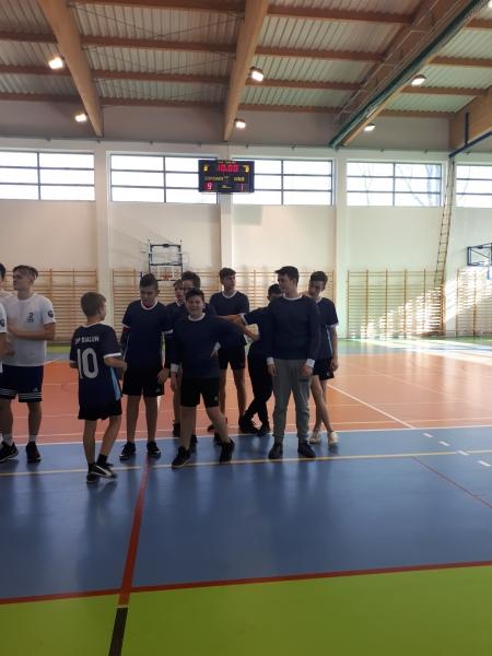 IV miejsce w Mistrzostwach Gminy chłopców w piłkę ręczną