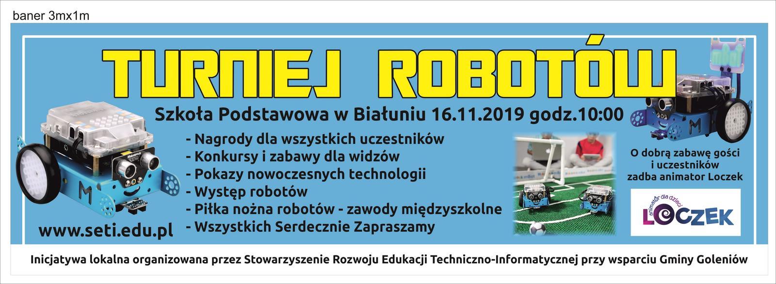 Turniej robotów