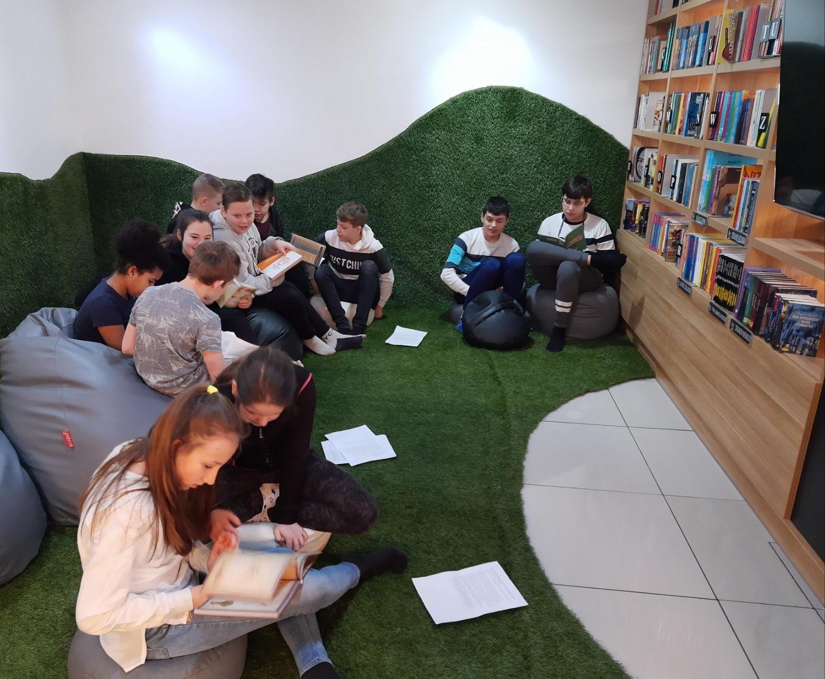 Wycieczka do Miejskiej Biblioteki Publicznej w Goleniowie