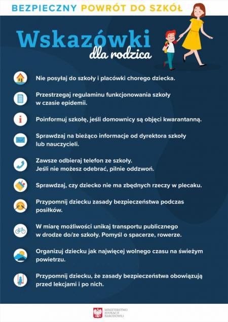 Procedury przeciwepidemiczne od 1 września 2020 r.