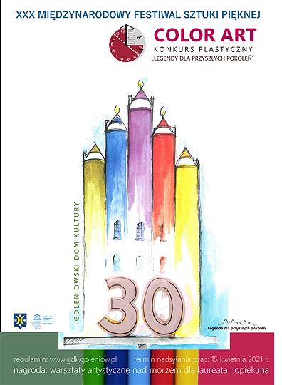 XXX Międzynarodowy Festiwal Sztuki Pięknej COLOR ART- KONKURS PLASTYCZNY ,,LEG