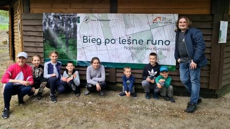 ''Bieg po leśne runo'' w Nadleśnictwie Kliniska