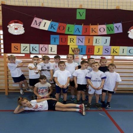 V Mikołajkowy Turniej Szkół Wiejskich